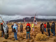 Western Shoshone Sacred Land Walk May 5 -- 11, 2014