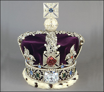 Queen Of England Crown Jewels Sunshine Buttercup - W...