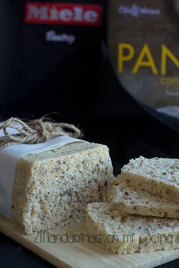 Pan  de molde integral del curso de panes en Miele Center Madrid