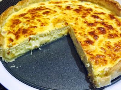 quiche de queijo