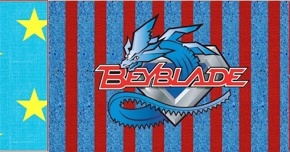 beyblade  free party printable