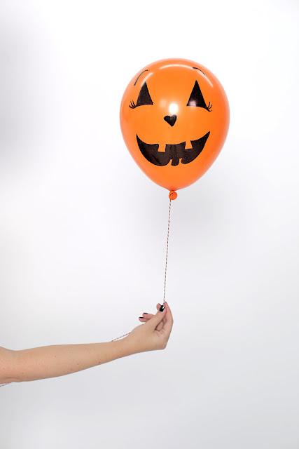 Decoração de Halloween com balões - PAP 04