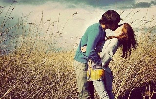 Me escapo de tus besos