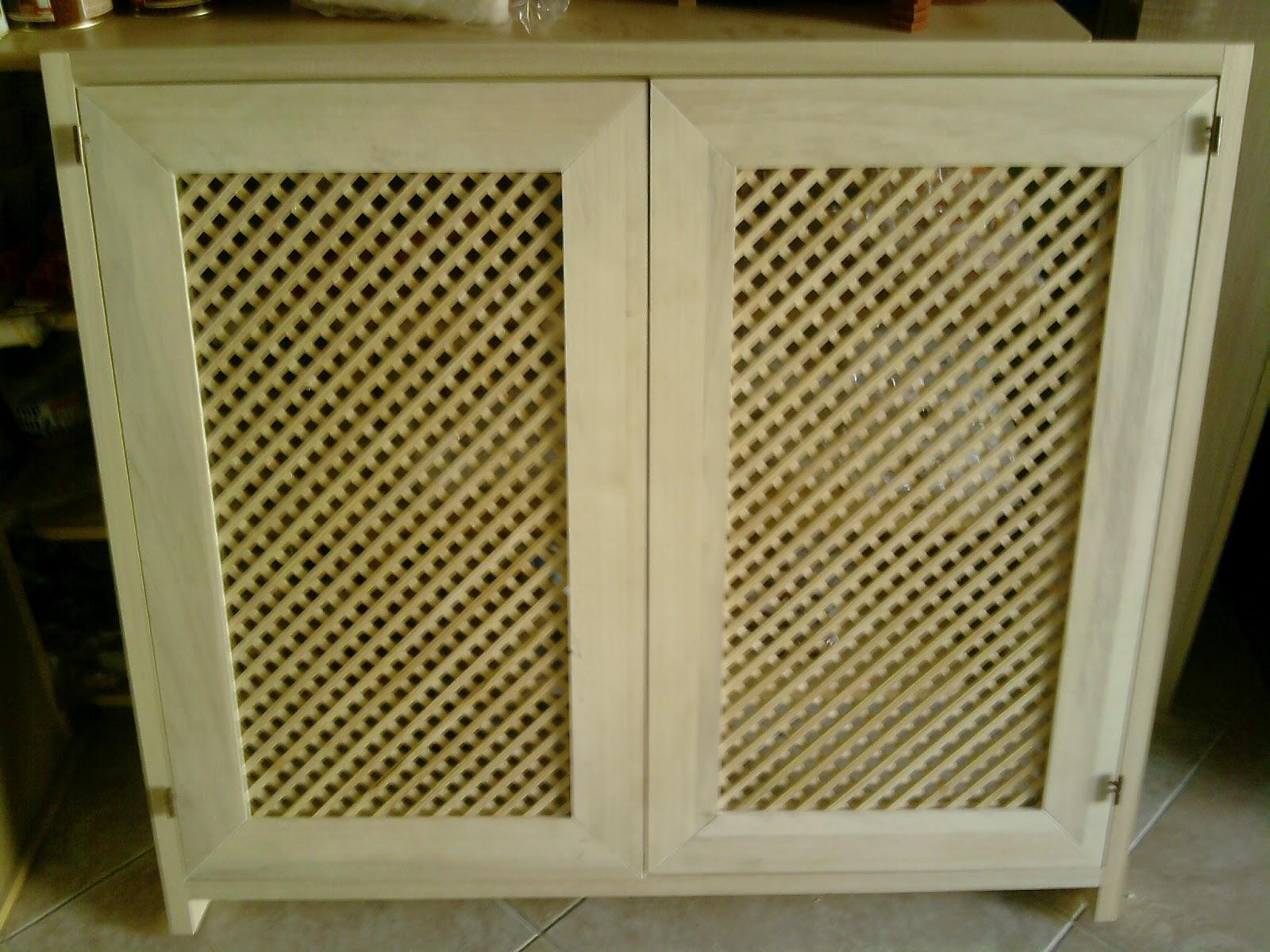 Fai da te hobby legno ante con griglia - Ante mobili fai da te ...