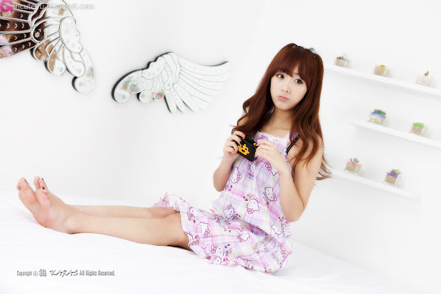 1 Minah and Hello Kitty-Very cute asian girl - girlcute4u.blogspot.com