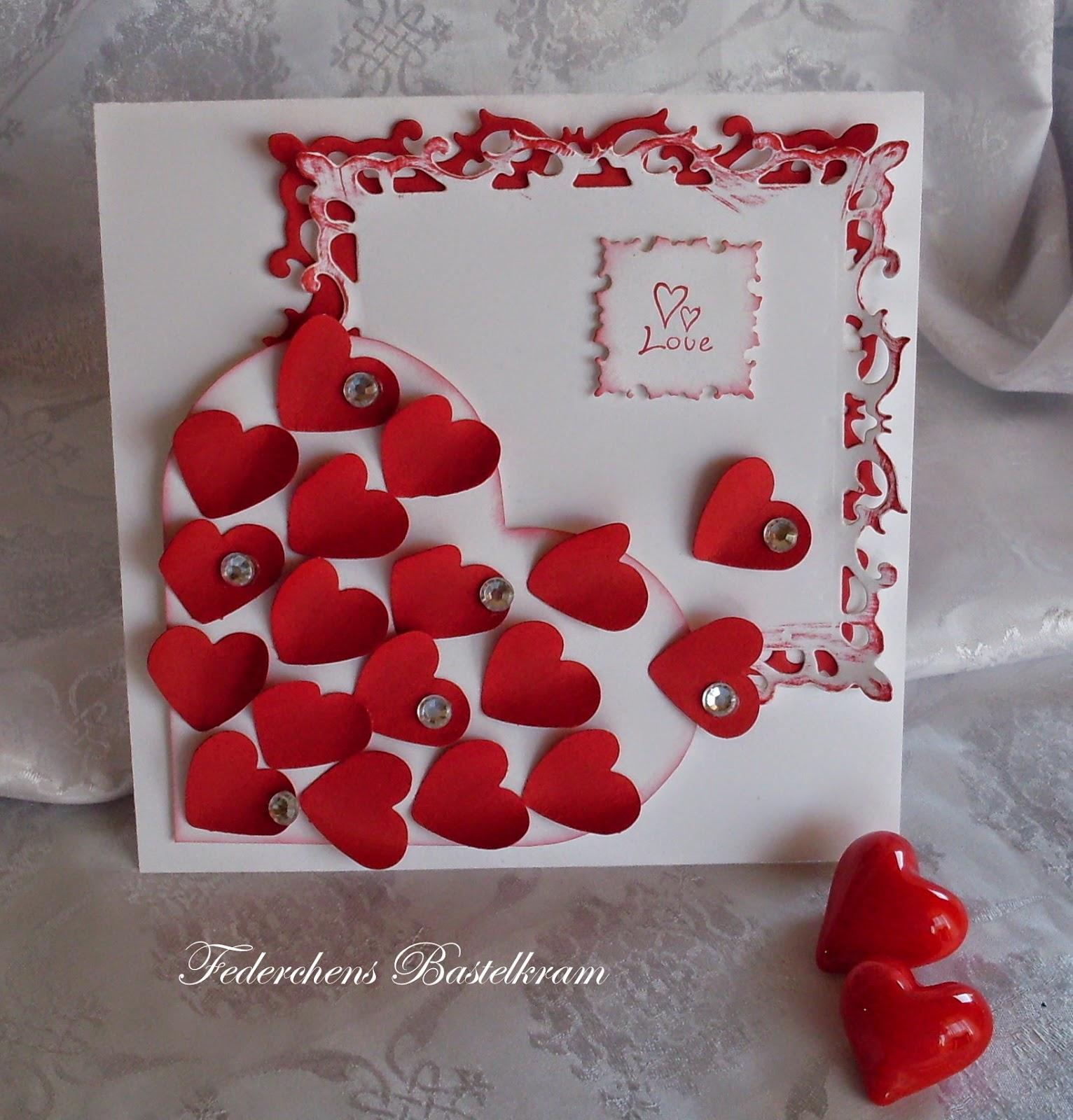 ... guter art und sitte zwei hochzeitskarten in rot und weiß schaut mal