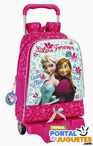 mochila escolar frozen ruedas