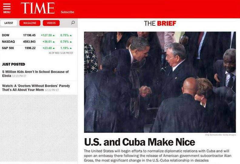 Cuba y USA restablecen relaciones diplomáticas