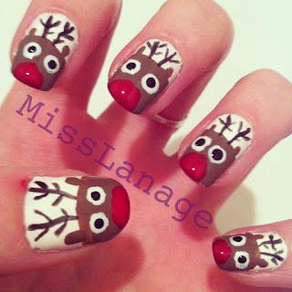 rudolph-nail-art-designs