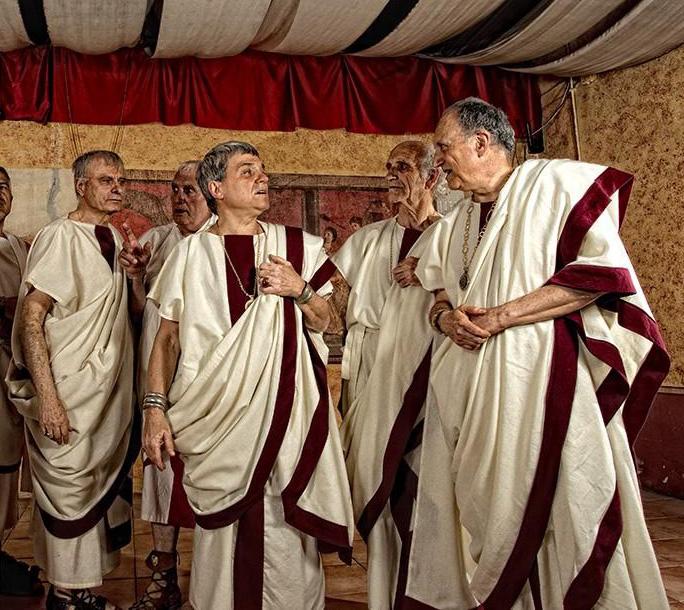 Il costume e la moda: Gli antichi romani e i loro abiti