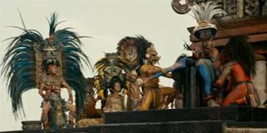 Sacrificio humano de la película Apocalypto