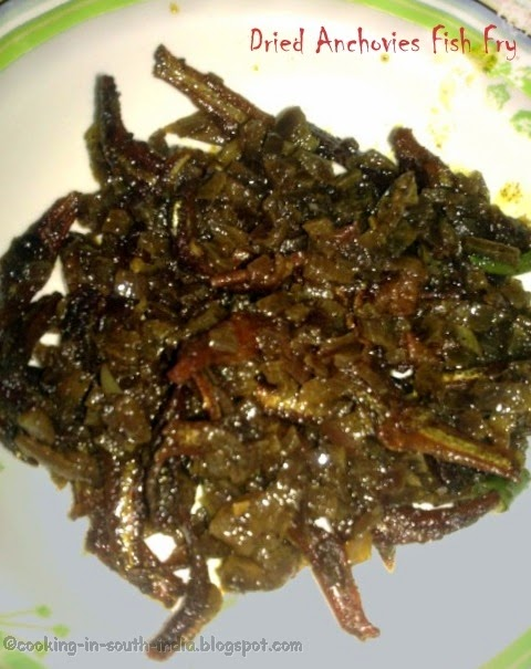 Dried Anchovies Fish Fry