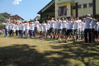 Jasa Outbound  Di Villa Istana Bunga Lembang