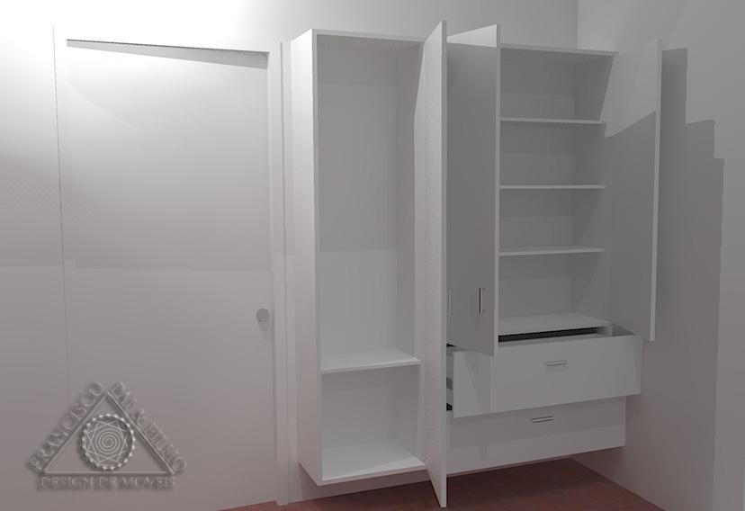 Armario Archivador Ikea ~ Francisco Pai& Filho Projeto Armário deÁrea de Serviço