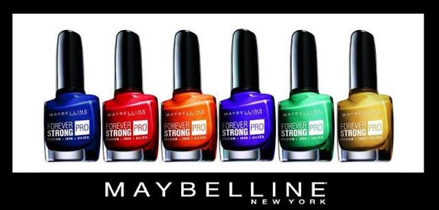 Maybelline Maybelline Forever Strong PRO nueva colección primavera verano 2012 2013, opiniones swatch review
