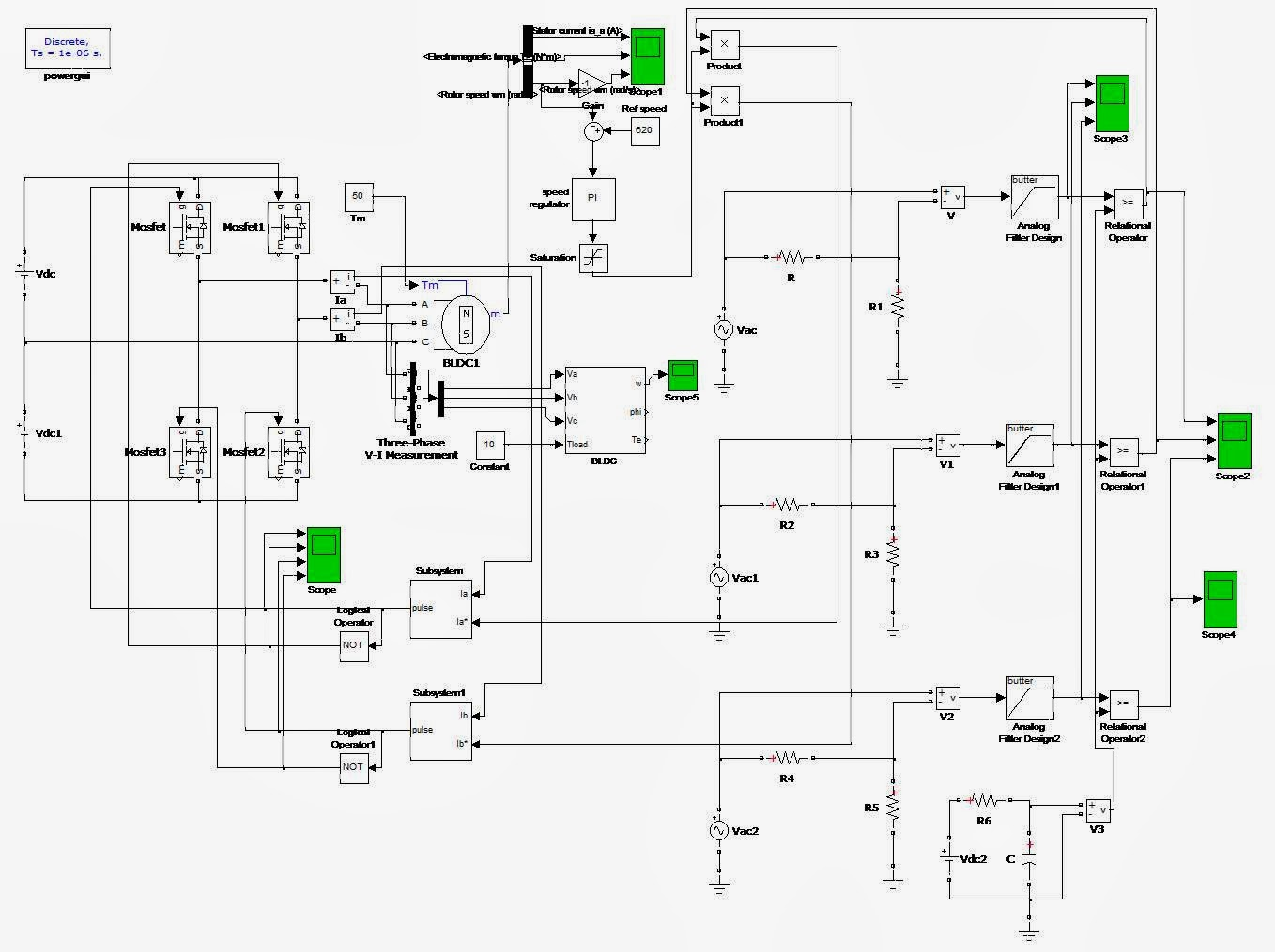 Matlab Electrical Ieee 917207560923 A Comparative Study Of Sensor Brushless Dc Motor Wiring Circuit Motorcontrol Controlcircuit And Less Control Four Switch Inverter Fed Pmbldc Is Discussed Simulation Model Using Transfer Function Bldc Presented