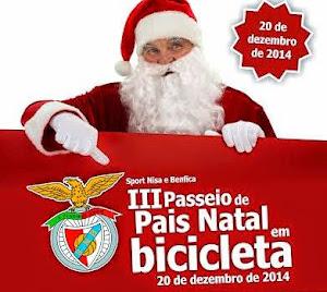 NISA E BENFICA: III PASSEIO DE PAIS NATAL EM BICICLETA
