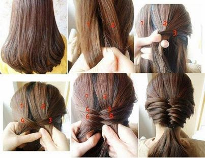 Alluring hair style tutorial