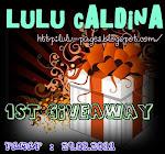 Lulu Caldina 1st Giveaway