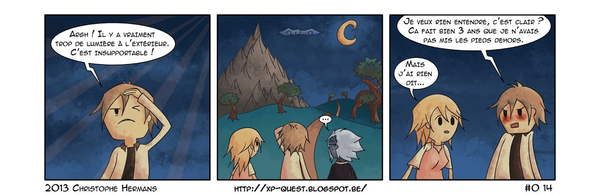 XP  comics  BD  humour  RPG