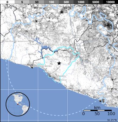 SISMO 5,5 GRADOS EN MEXICO 30 DE SEPTIEMBRE 2015