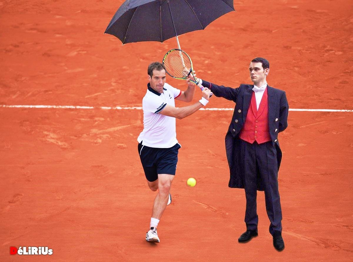 Pas de toit à Roland-Garros, certains joueurs se moquent de la situation