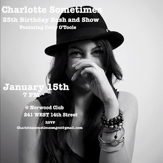 Charlotte Sometimes: 'The Voice' Finalist Hosts Birthday Bash and Free Show at Norwood Club on Tues., Jan.15th
