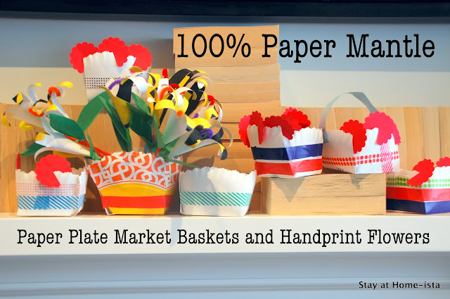 paper baskets from paper plates