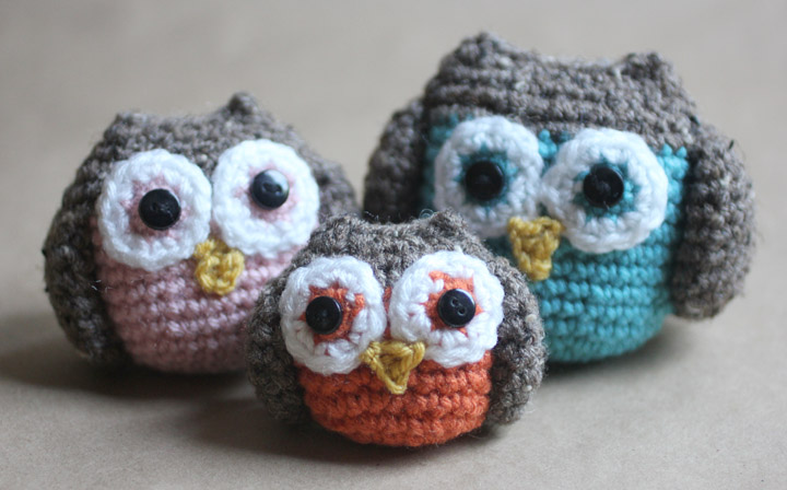 Free Crochet Pattern Owl Family : free amigurumi owl crochet patterns Car Pictures