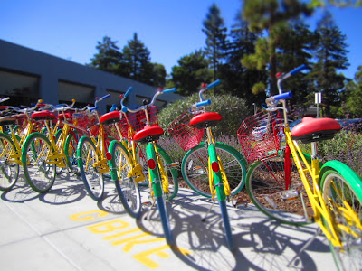 GBikes in Front of 1200 Charleston Rd, Mountain View