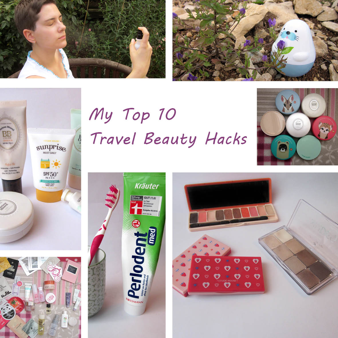My Top 10 Beauty Travel Hacks