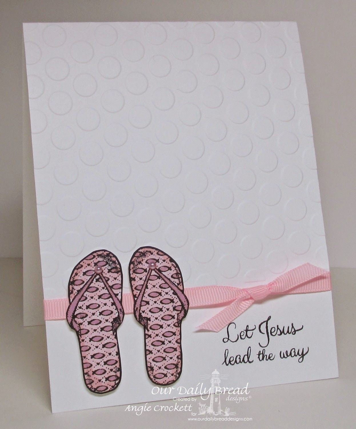 ODBD Walk With Jesus, Card Designer Angie Crockett