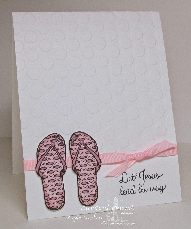 ODBD Walk With Jesus, Card Designer Angie Crockett