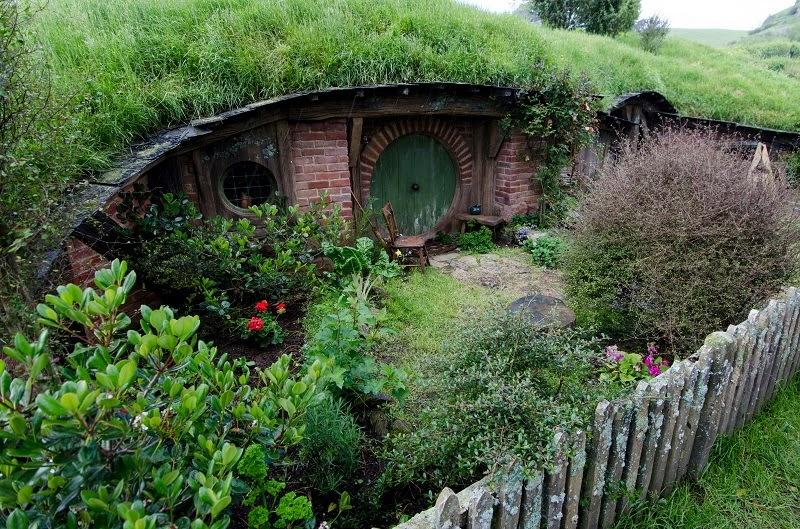 Hobbiton - the Real Hobbit Village in Matamata, New Zealand