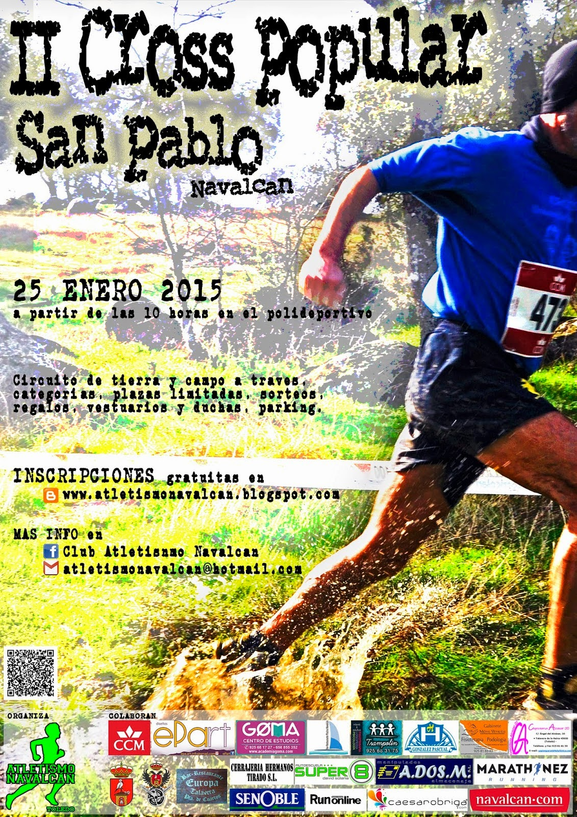 II Cross Popular de San Pablo, de Navalcán