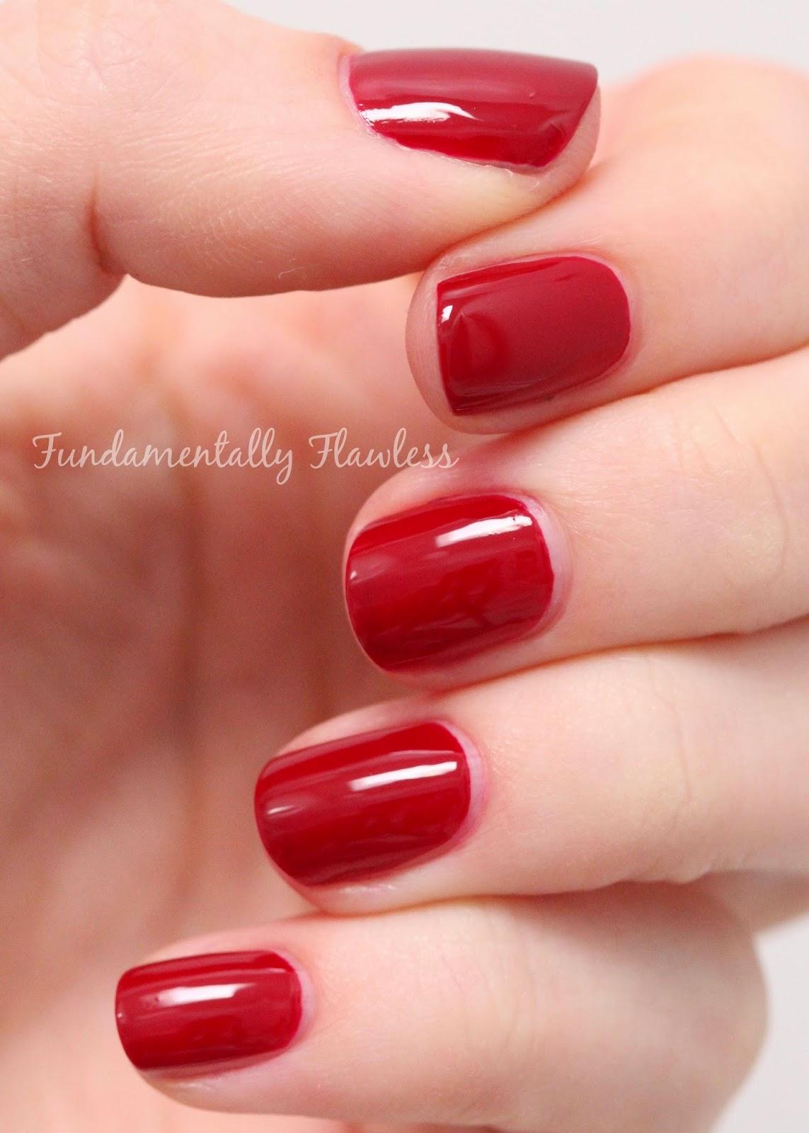 Models Own Autumn Hypergel Brunette Red swatch
