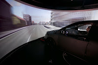Mercedes-Benz B-Class driving simulator