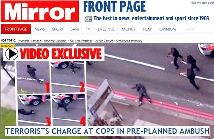 London attack in pictures