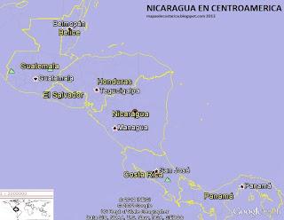 NICARAGUA GOOGLE EARTH 2012