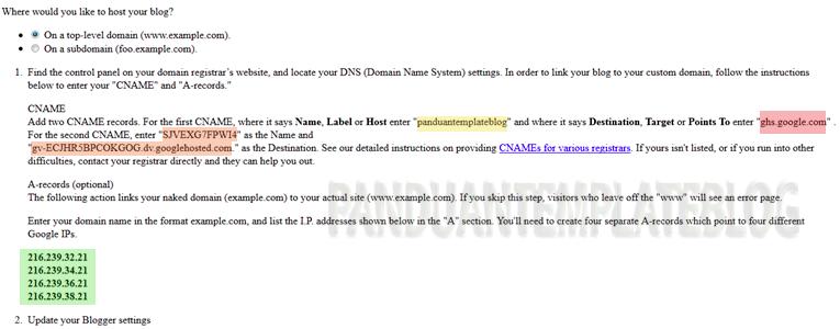 Domain IDwebhost