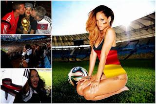Rihanna déchaînée pour la finale du Mondial