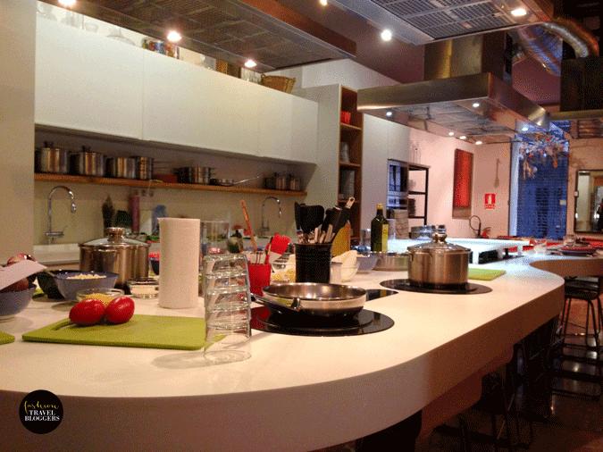 Experiencia en la escuela de cocina Espai Boisà