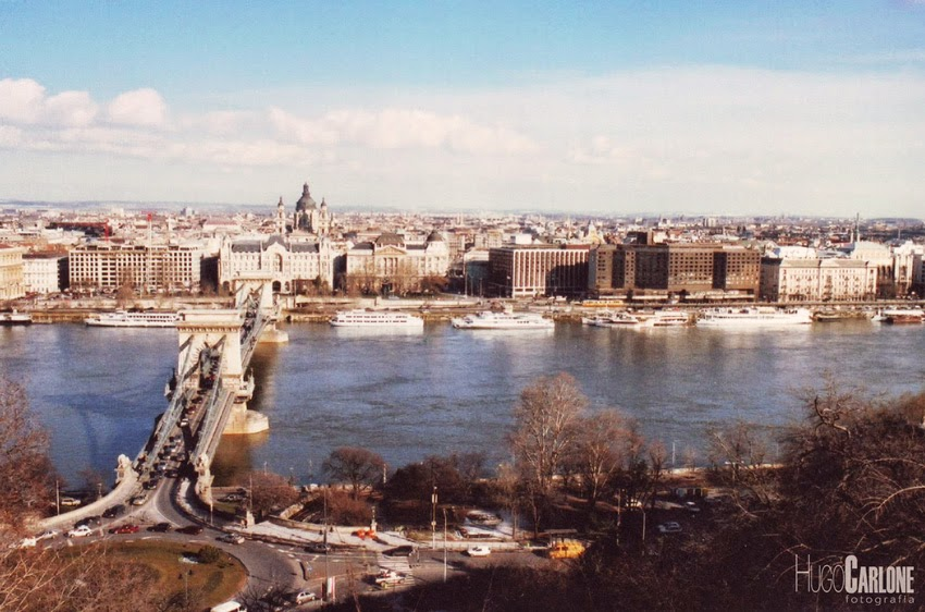 Rio Danúbio em Budapeste na Hungria