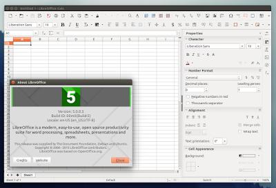 LIbreOffice 5.0