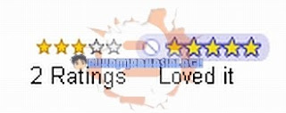 Star Rating Blogger