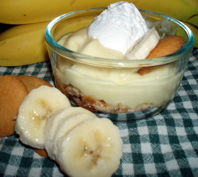 RuralMom.com: Quick and Easy Banana Pudding Cup #Recipe
