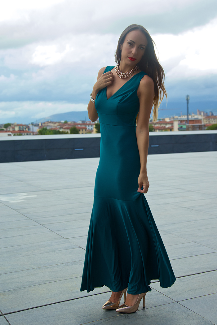 emerald green evening dress ever pretty