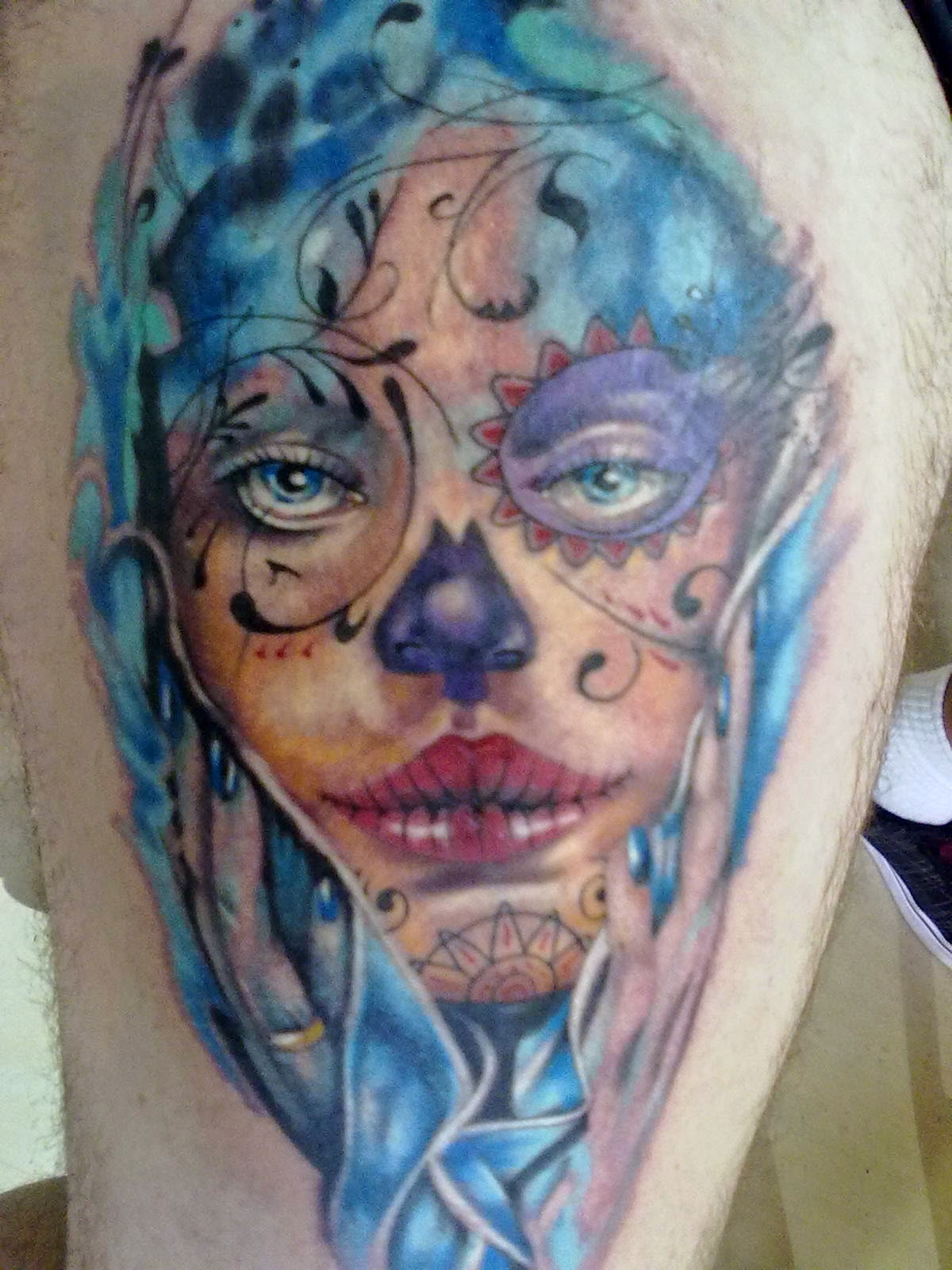 Awesome Catrina Tattoos