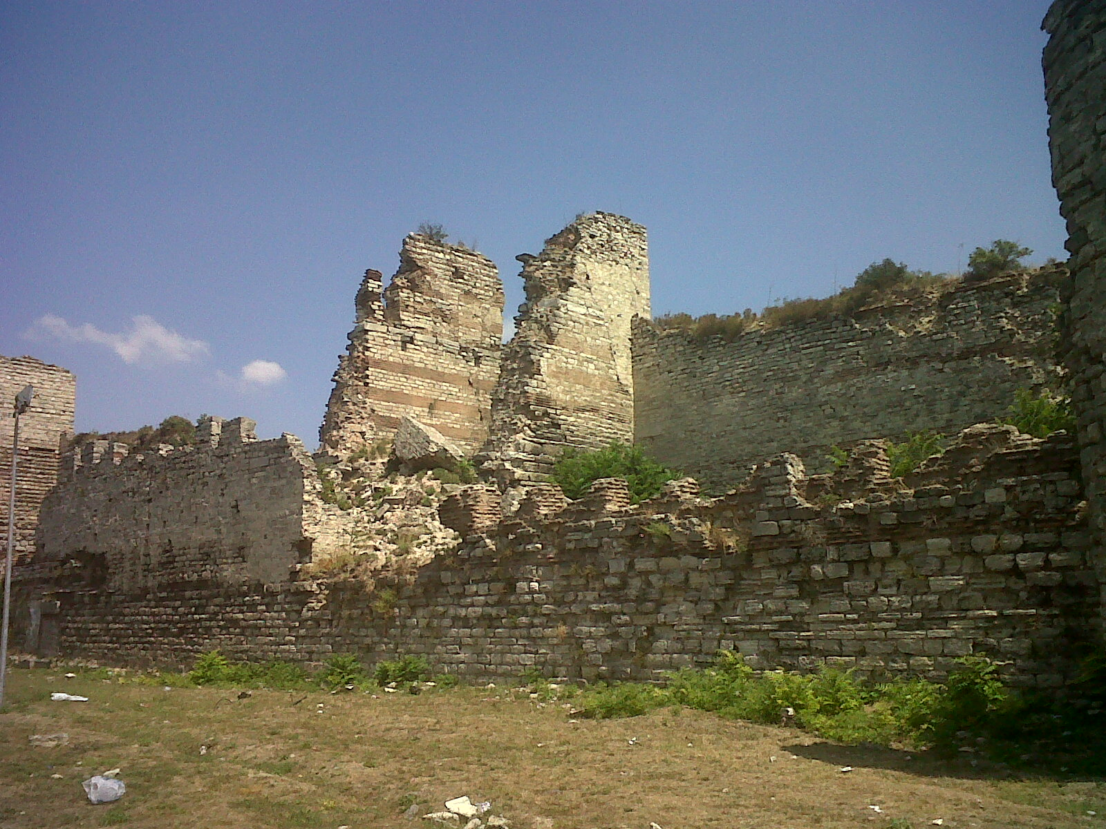 geschichtsfreak  viaje por estambul  las murallas de