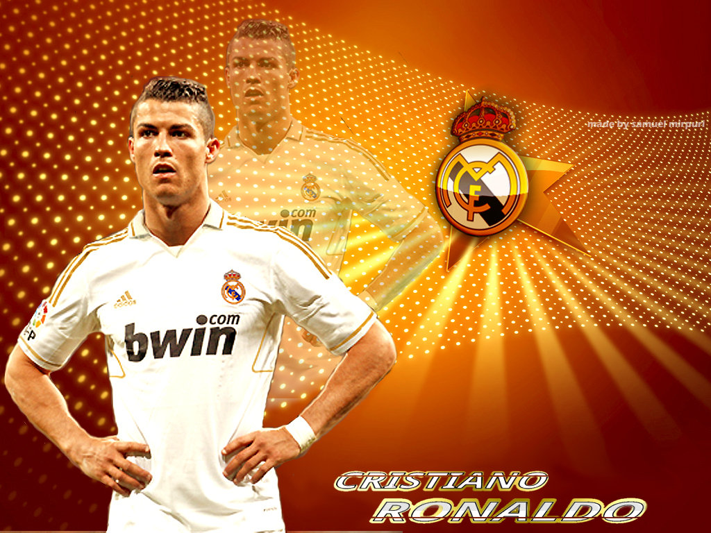 Cristiano 7 Ronaldo New Wallpapes Real Madrid 2012